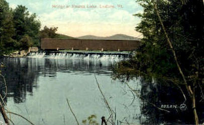 Rescue Lake - Ludlow, Vermont VT Postcard