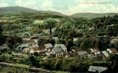 Ludlow - Vermont VT Postcard
