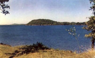 Mallett's Bay - Lake Champlain, Vermont VT Postcard