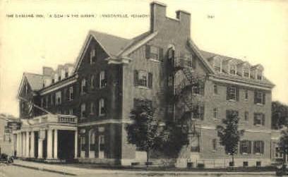 Darling Inn - Lyndonville, Vermont VT Postcard
