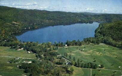 Lake morey - Vermont VT Postcard