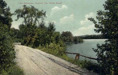 Creek Road - Lake Bomoseen, Vermont VT Postcard