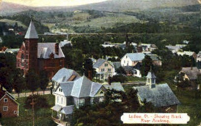 Black River Academy - Ludlow, Vermont VT Postcard