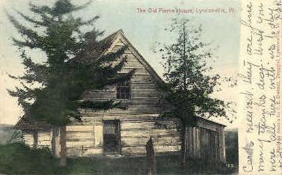 Old Pierce House - Lyndonville, Vermont VT Postcard