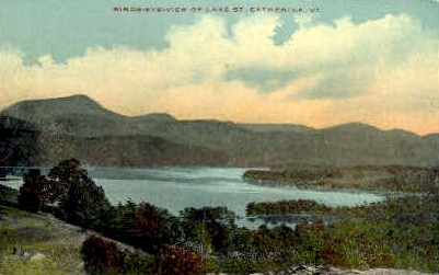 Lake St. Catherine - Lake St Catherine, Vermont VT Postcard