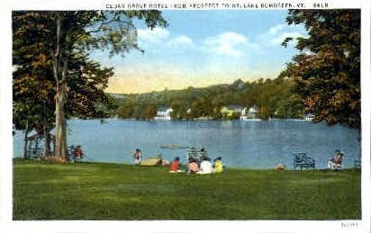 Cedar Grove - Lake Bomoseen, Vermont VT Postcard