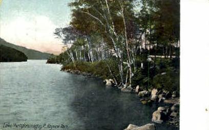 Bayview Park - Lake Memphremagog, Vermont VT Postcard