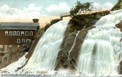Electirc Light Station - Lyndonville, Vermont VT Postcard