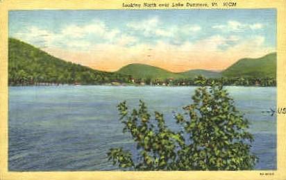 Lake Dunmore - Vermont VT Postcard