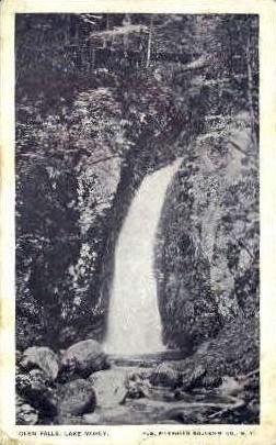 Glen Falls - Lake Morey, Vermont VT Postcard