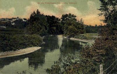 Passumpsic  - Lyndonville, Vermont VT Postcard