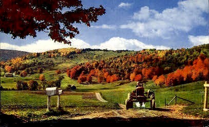 Vermont Farm Country - Misc Postcard