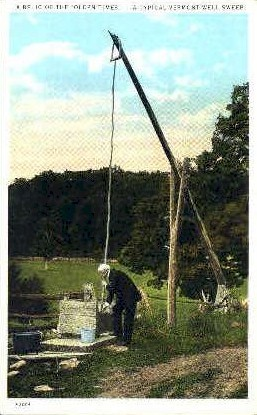 Vermont Well Sweep - Misc Postcard