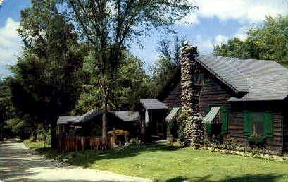 Toll Gate Lodge - Manchester, Vermont VT Postcard