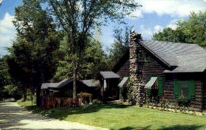Toll Gate Lodge - Manchester, Vermont VT Postcard