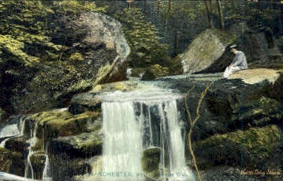 Downers Glen - Manchester, Vermont VT Postcard