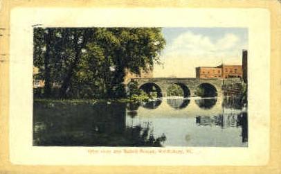 Otter River - Middlebury, Vermont VT Postcard