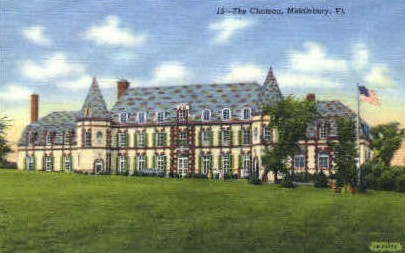 The Chateau - Middlebury, Vermont VT Postcard