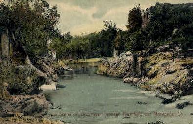 Dog River - Montpelier, Vermont VT Postcard