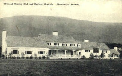 Ekwanok Country Club - Manchester, Vermont VT Postcard