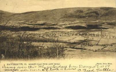 Deer Knoll - Manchester, Vermont VT Postcard