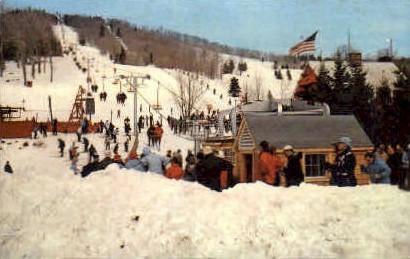 Bromley Mountain - Manchester, Vermont VT Postcard