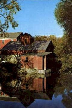 Old Colvin Grist Mill - Manchester, Vermont VT Postcard