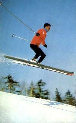 Mount Snow - Vermont VT Postcard