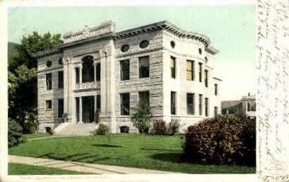 Kellogg-Hubbard Library - Montpelier, Vermont VT Postcard
