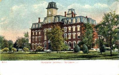 Montpelier Seminary - Vermont VT Postcard