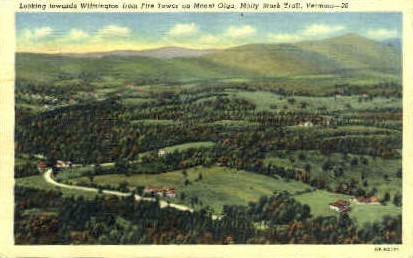 Wilmington - Molly Stark Trail, Vermont VT Postcard