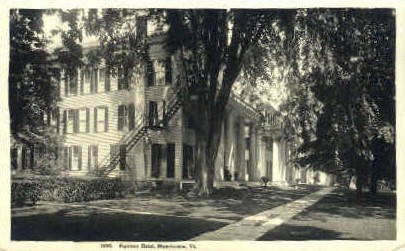 Real Photo - Equinox Hotel - Manchester, Vermont VT Postcard