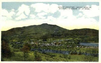 Mount Ascutney - Vermont VT Postcard