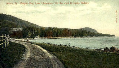 Wrights Bay - Milton, Vermont VT Postcard
