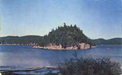 marble Island - Mellett's Bay, Vermont VT Postcard