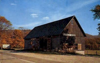 Basket Barn - Manchester, Vermont VT Postcard