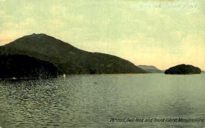 Owl's Head - Lake Memphremagog, Vermont VT Postcard