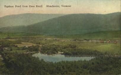Equinox Pond - Manchester, Vermont VT Postcard