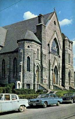 Catholic Church - Montpelier, Vermont VT Postcard
