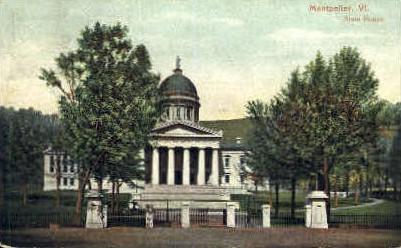 State House - Montpelier, Vermont VT Postcard
