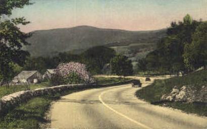 Ethan Allen Highway - Manchester, Vermont VT Postcard