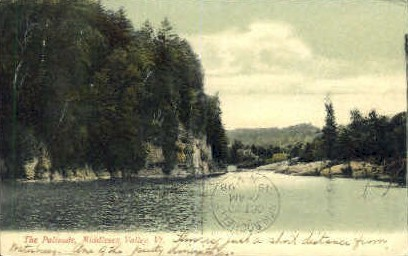 Palisade - Middlesex, Vermont VT Postcard