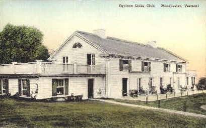 Equinox Links Club - Manchester, Vermont VT Postcard