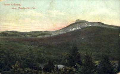Camel's Hump - Montpelier, Vermont VT Postcard