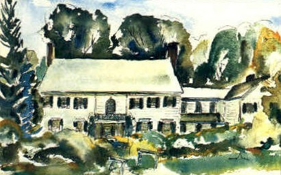 Southern Vermont Art Center - Manchester Postcard