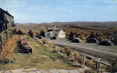 Skyline Restaurant - Molly Stark Trail, Vermont VT Postcard