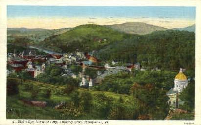 Montpelier - Vermont VT Postcard