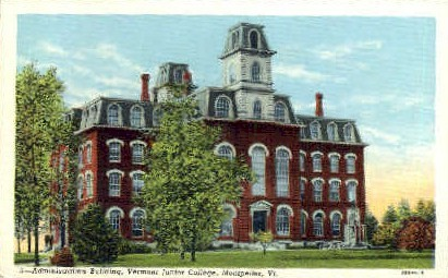 Vermont Junior College - Montpelier Postcard