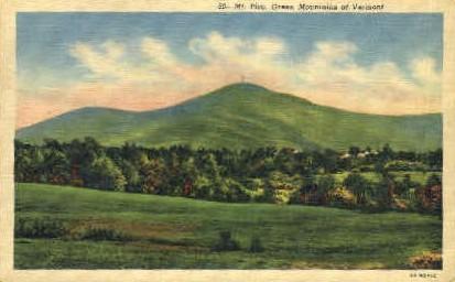 Mount Pico - Vermont VT Postcard
