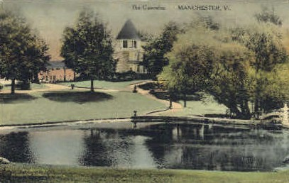 Cascades - Manchester, Vermont VT Postcard